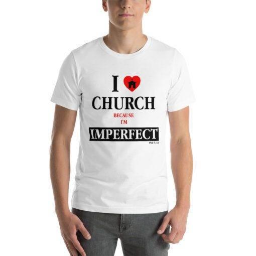 Plain Unisex Short-Sleeve T-Shirt
