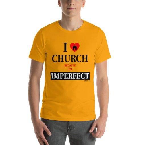Plain Unisex Short-Sleeve T-Shirt - Men and Women