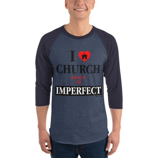 Men's 3/4 Sleeve Raglan Shirt